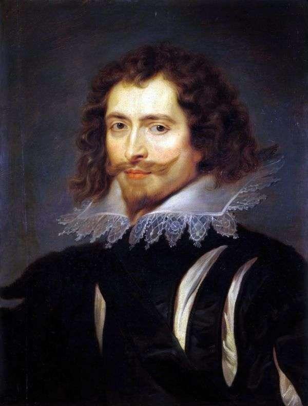 バッキンガム公爵の肖像   Peter Rubens