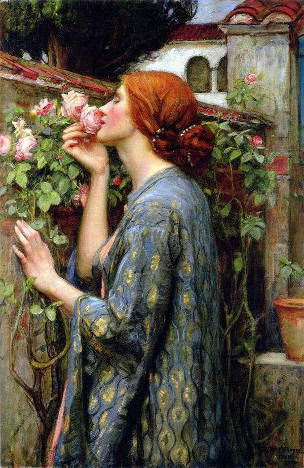 私のお気に入りのバラはジョンウォーターハウスです
