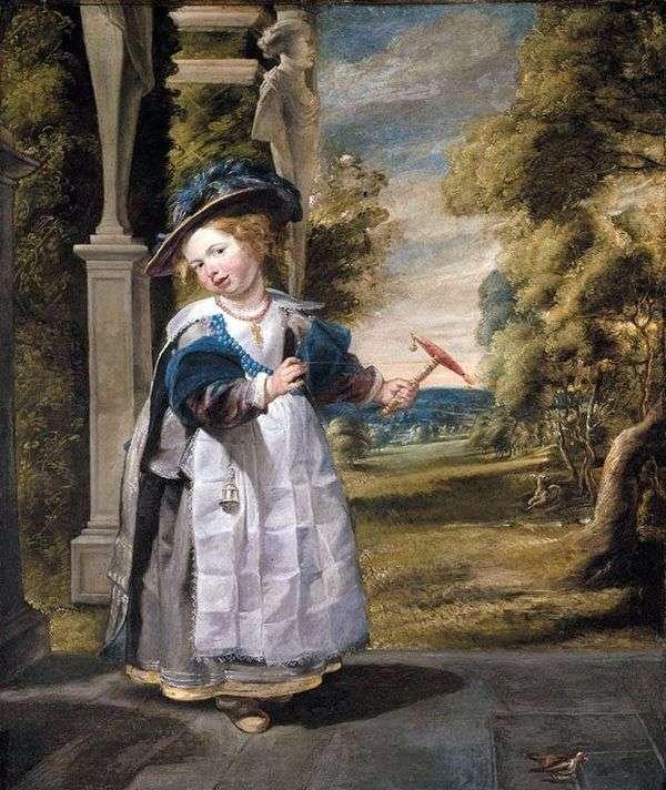 アーティストの娘の肖像   Jacob Jordaens