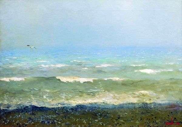 地中海沿岸   Isaac Levitan