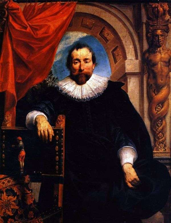 Rutger Le Wheeter   Jacob Jordaensの肖像
