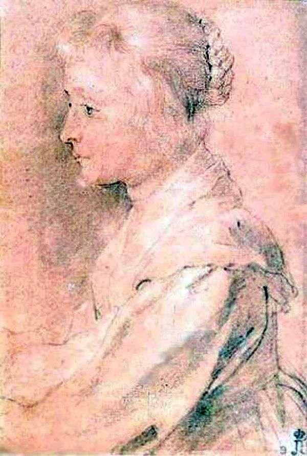 Balthazar Gerbier   Peter Rubensの娘の肖像画