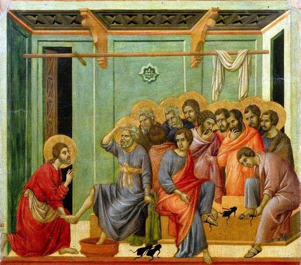 フットウォッシュ   Duccio di Buoninsegna