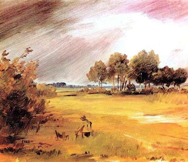 雨の中の風景   Wilhelm Bush