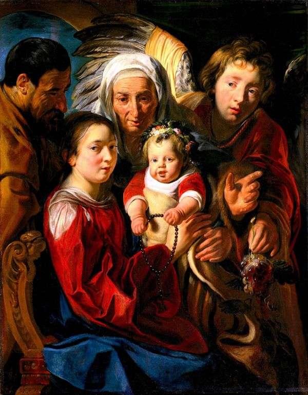 聖家族   ジェイコブ・ジョーダン