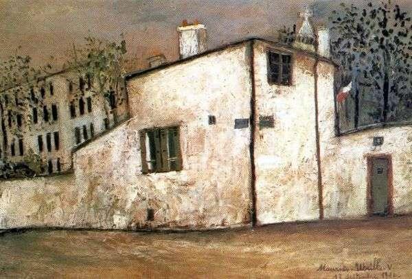 Berlioz House   Maurice Utrillo