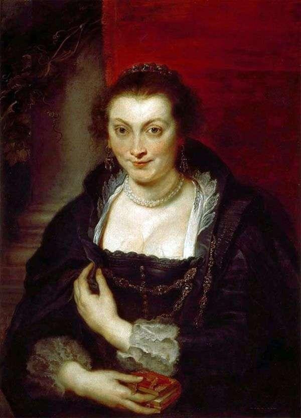 イザベラブラントの肖像   Peter Rubens