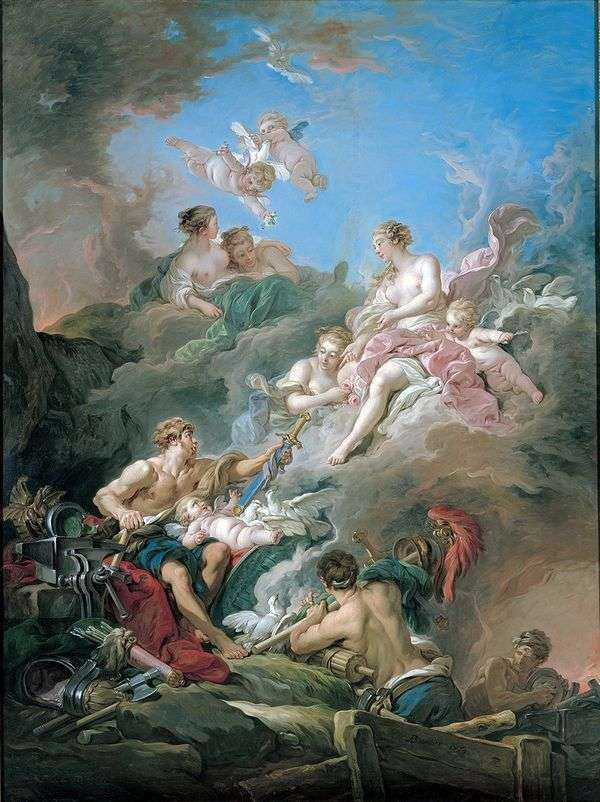 バルカン   フランソワ・ブーシェの偽造の金星