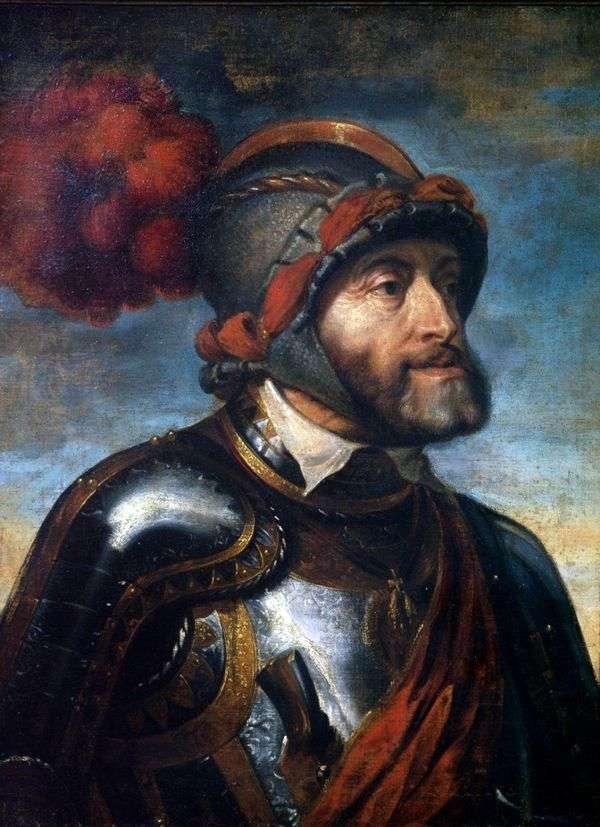 チャールズV皇帝の肖像   Peter Rubens