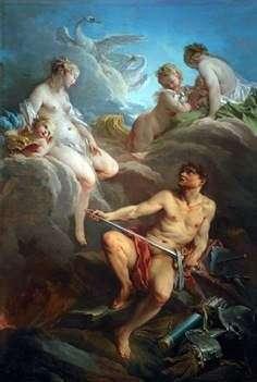 Aeneas   Francois Boucherのための武器と金星とバルカン
