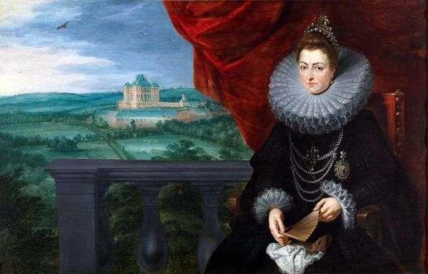 Infanta Isabel Clara Eugenioの肖像   Peter Rubens