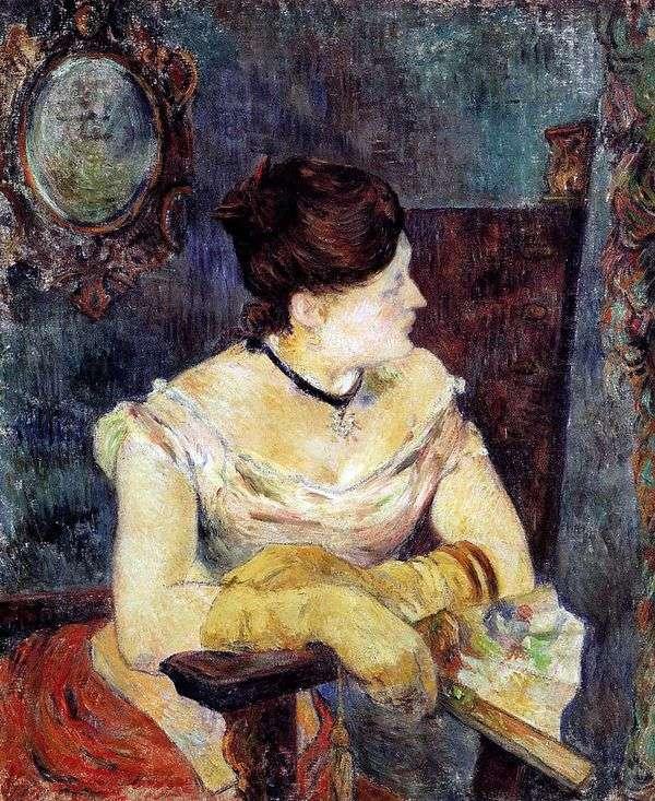 ゴーギャンのイブニングドレス   Paul Gauguin