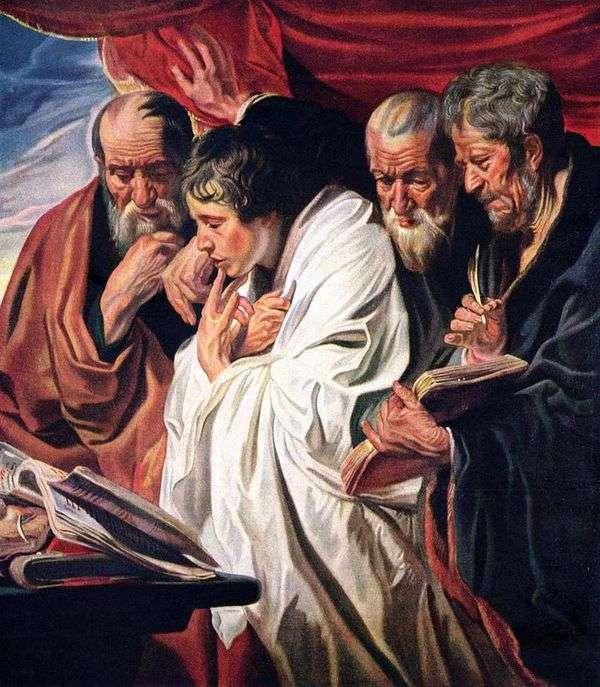 4人の福音伝道者   ヤコブ・ジョーダン