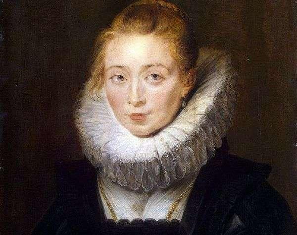裁判所の労働者、インファンタ・イザベラの肖像   Peter Rubens