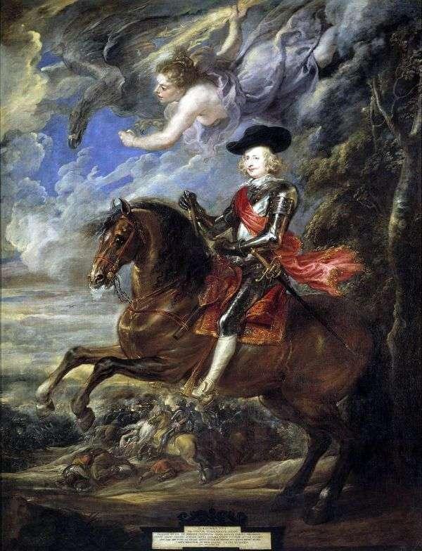 枢機卿Infante Ferdinand   ピータールーベンスの肖像