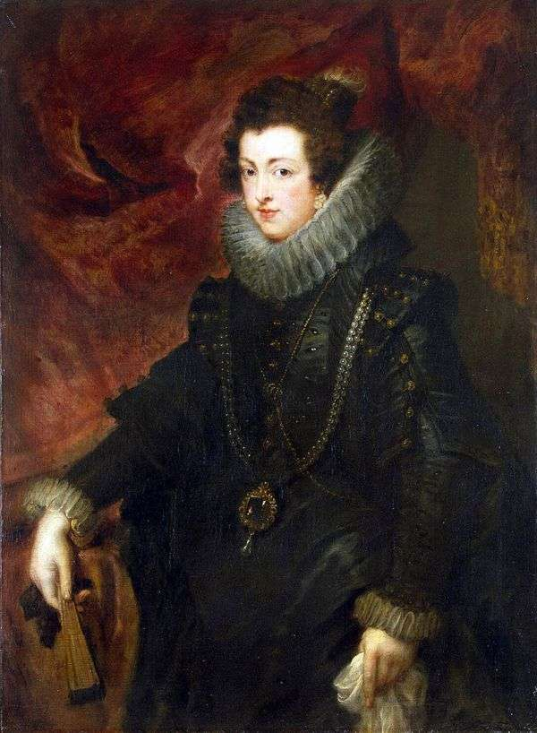 エリザベ女王の肖像   Peter Rubens