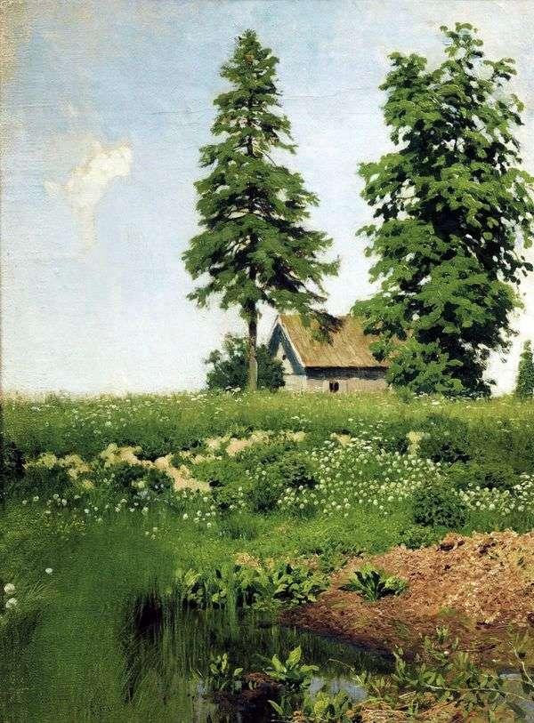 草原の小屋   Isaac Levitan