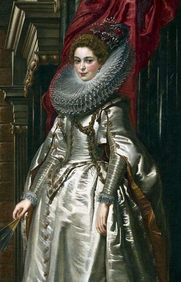 ブリヒダスピノーラドリアの侯爵の肖像   Peter Rubens
