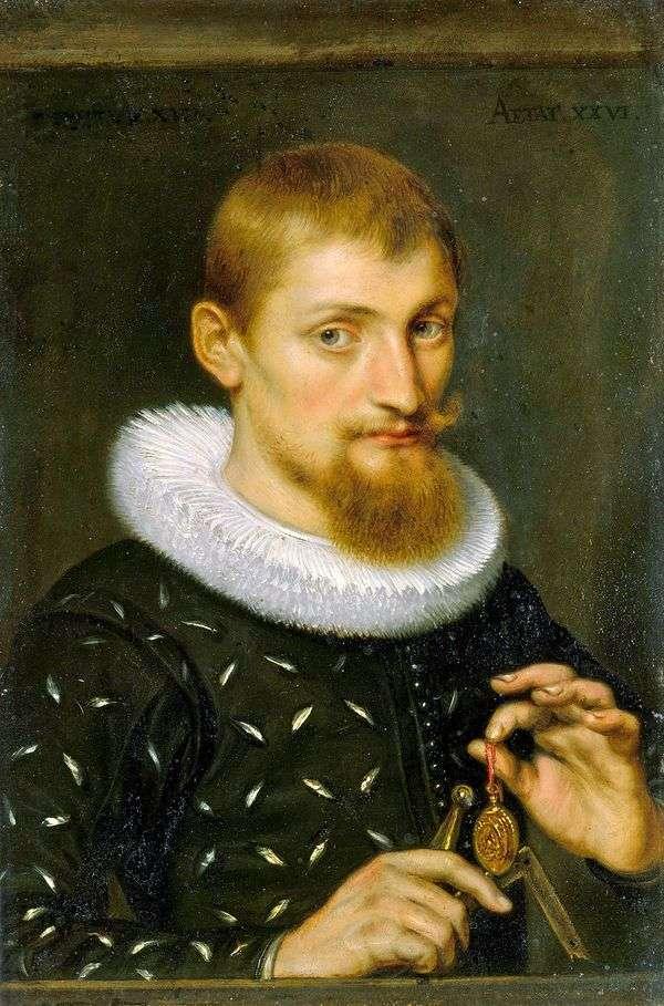 男の肖像   ピーター・ルーベンス