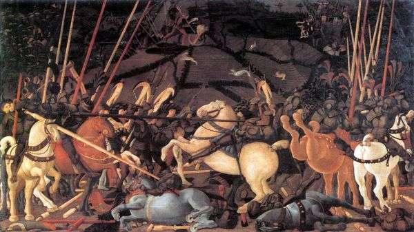 サンロマーノの戦い   Paolo Uccello