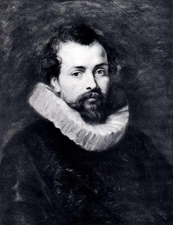 Philip Rubensの肖像   Peter Rubens