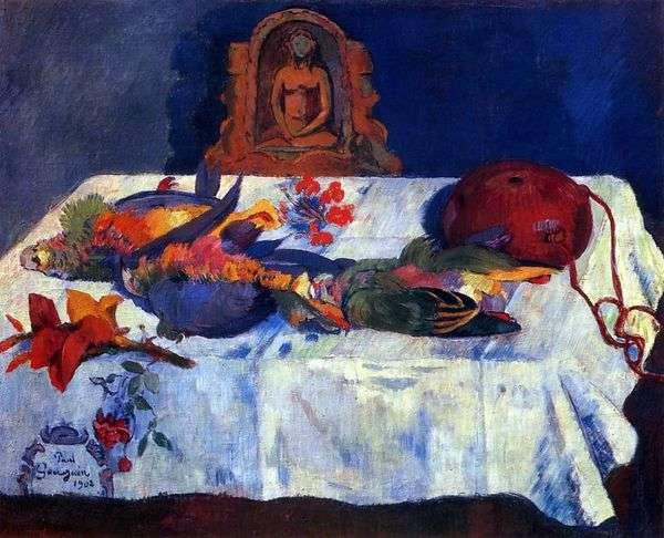 オウムのある静物   Paul Gauguin