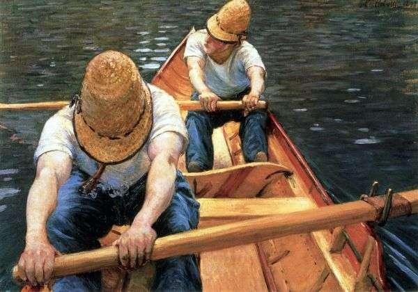 Rowers   Gustave Cybott