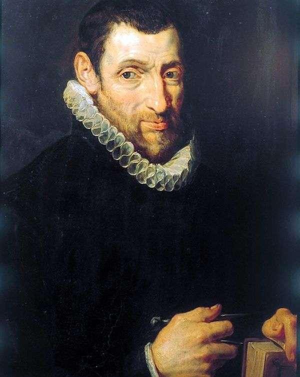Christoffel Plantin(ChristoffelРlantin)の肖像   ピータールーベンス