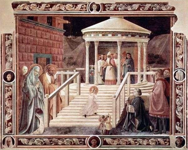 聖母マリアの神殿の紹介   Paolo Uccello
