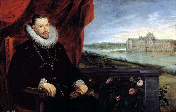 大公アルバートの肖像   Peter Rubens