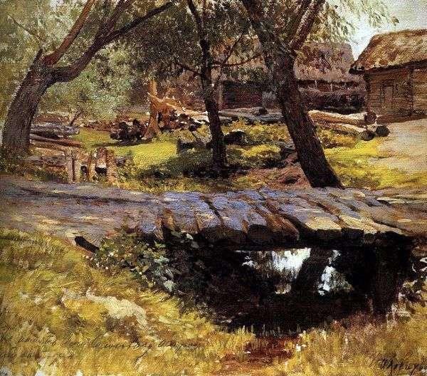 橋 Savvinskayaの決済   Isaac Levitan