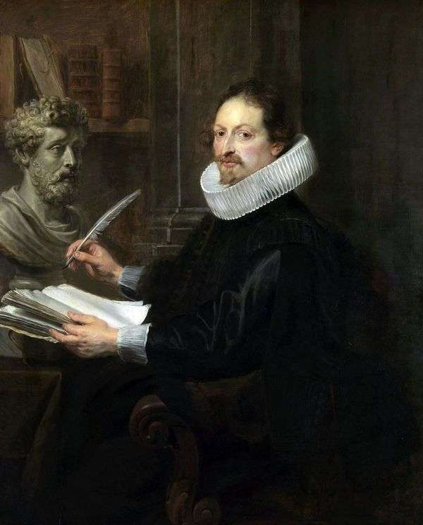 Jan Gaspar Gevarts   Peter Rubensの肖像画