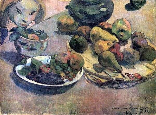 フルーツのある静物   Paul Gauguin