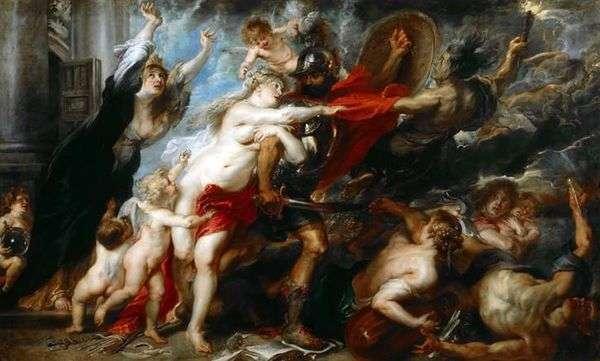 戦争の結果   Peter Rubens