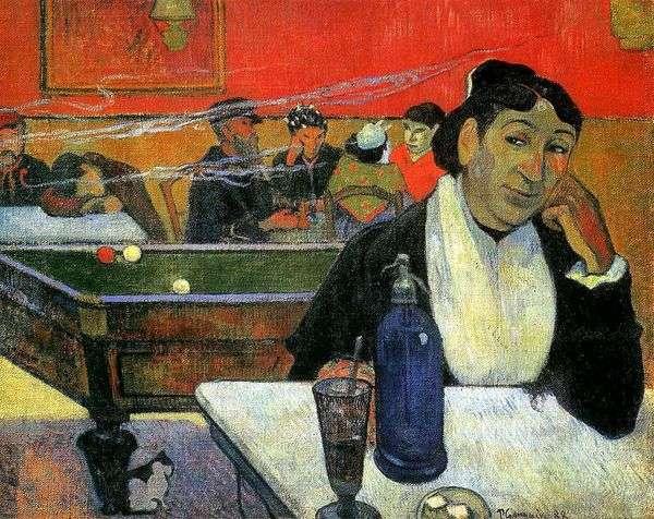Night Cafe、Arles(アルルのナイトカフェ)   Paul Gauguin