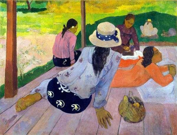 ダイニングレスト(シエスタ)   Paul Gauguin
