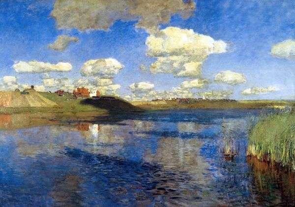 湖 Rus   Isaac Levitan