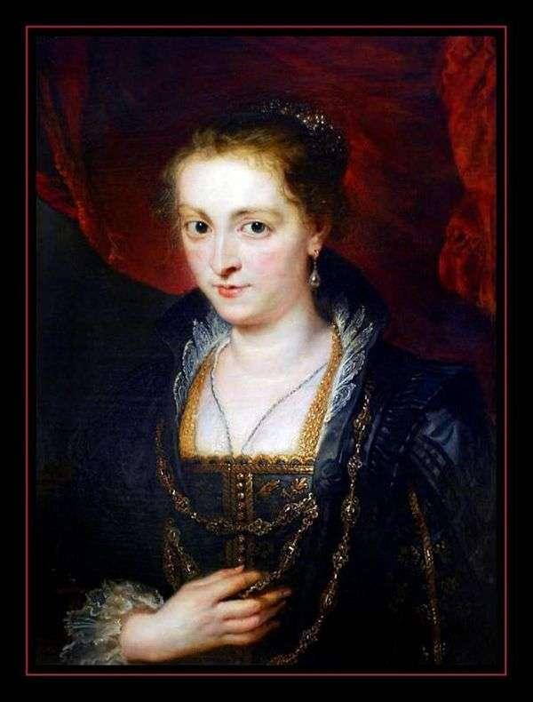 女性の半身像   Peter Rubens
