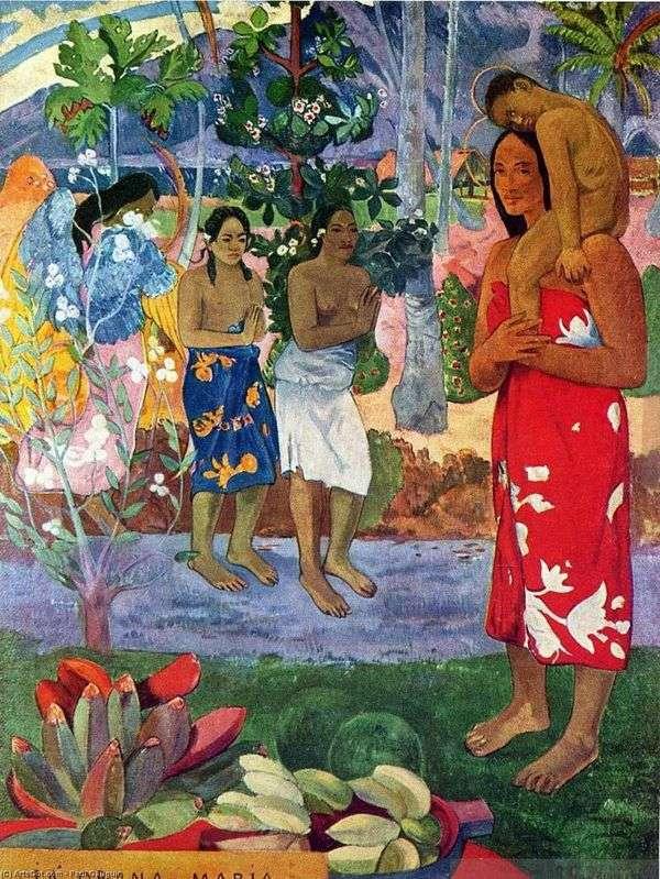 Oran Maria(マリア大歓迎)   Paul Gauguin