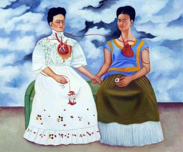 2つのフリーダス   Frida Kahlo