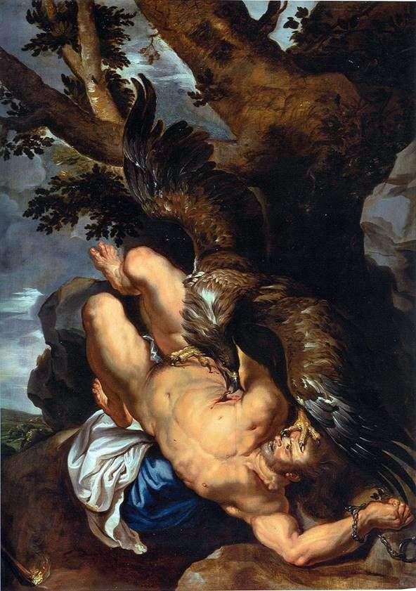 プロメテウスの連鎖   Peter Rubens