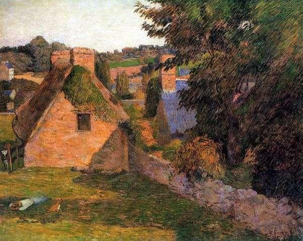 ランドスケープフィールドDerout Lollichon   Paul Gauguin
