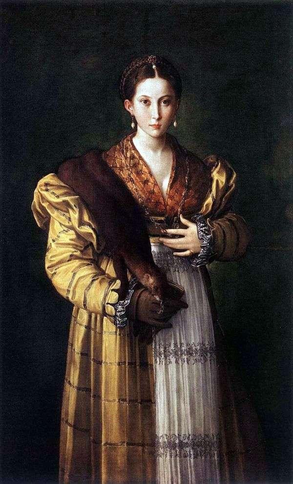 Anthea   Francesco Parmigianino