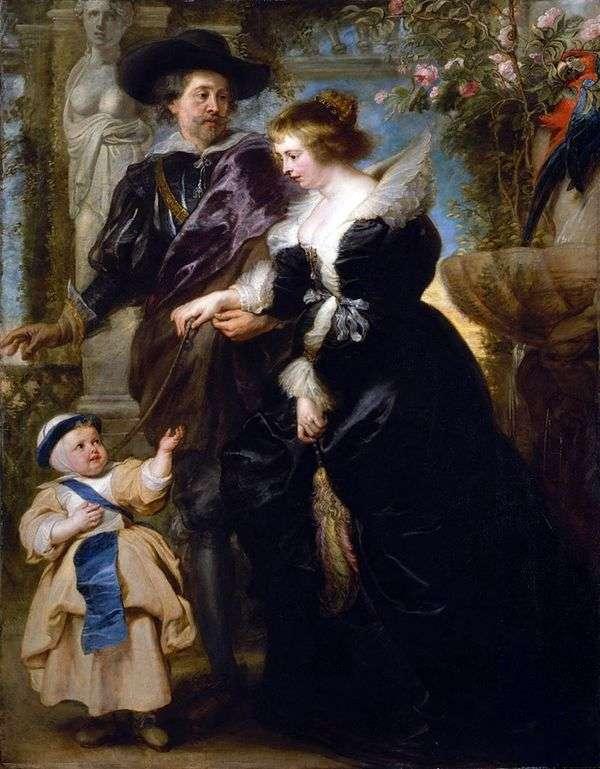 ルーベンス、彼の妻と息子   Peter Rubens