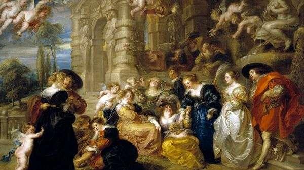 ラブガーデン   Peter Rubens