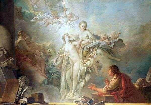ピグマリオンとガラティア   Francois Boucher
