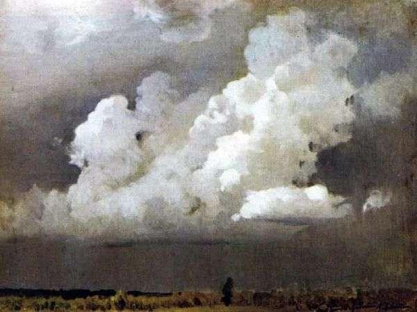 嵐の前に   Isaac Levitan