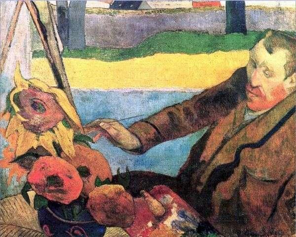 ゴッホ   Paul Gauguinの肖像