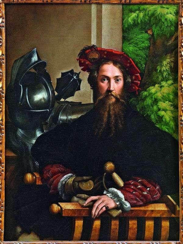 Galeazzo Sanvital、フォンターネラト王子   Francesco Parmigianino