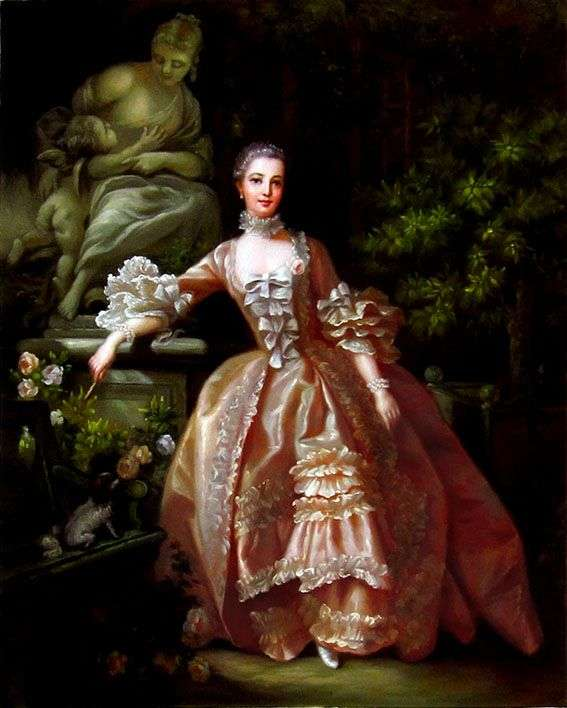 Madame de Pompadour   Francois Boucherの肖像